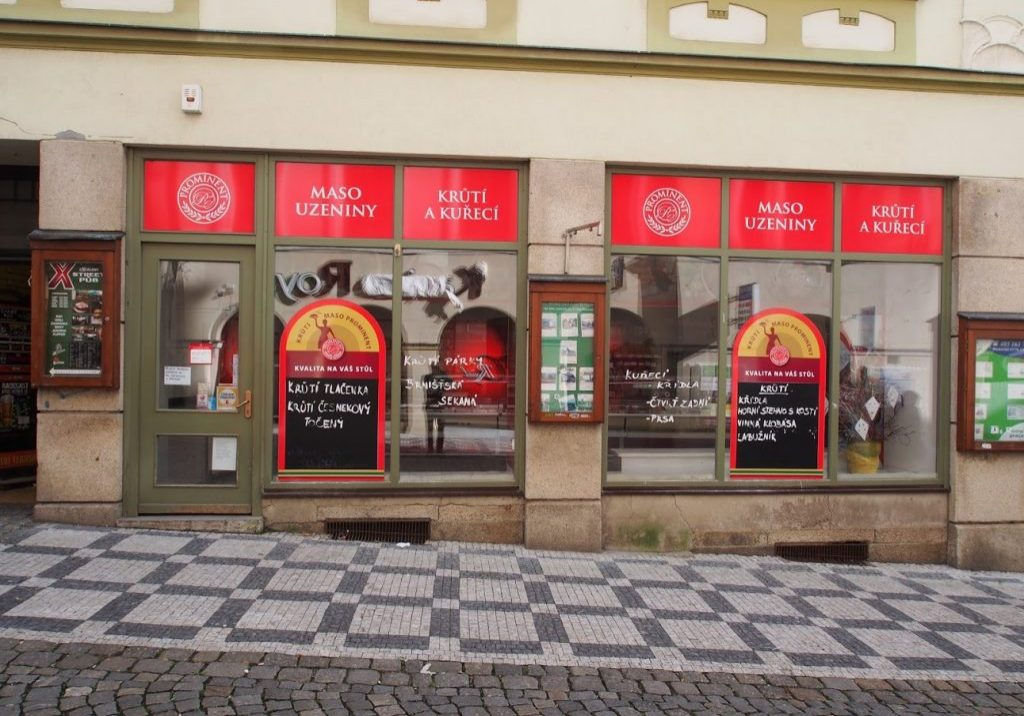 Liberec MOskevská zvenku